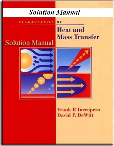 solution manual fundamentals of heat and mass transfer mgh242 rh mgh242 wordpress com incropera heat transfer solutions manual 7th free download incropera heat transfer solutions manual 7th edition